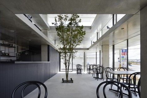 IGArchitects designs Café in Ujina, Hiroshima