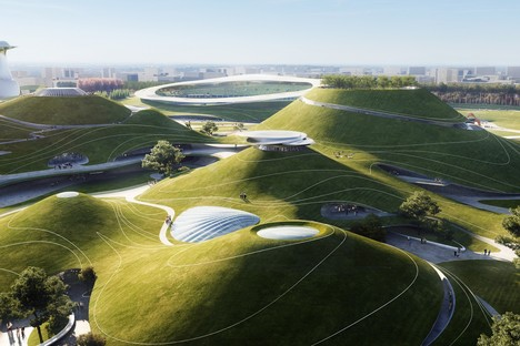 MAD Architects: Architecture and landscape at the Quzhou Sports Park