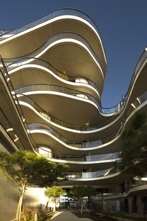 Christophe Rousselle Architecte Courbes residential buildings in Colombes, France