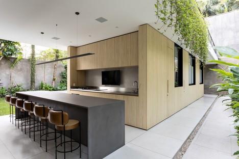 CR2 Arquitetura Jacupiranga House, San Paolo, Brazil