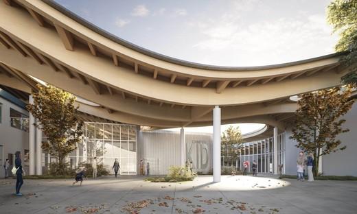 Mario Cucinella Architects New KID Campus in San Lazzaro di Savena