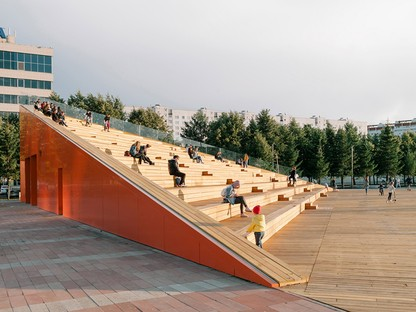 The DROM studio transforms a monotonous square - Azatlyk Square - into a lively public space