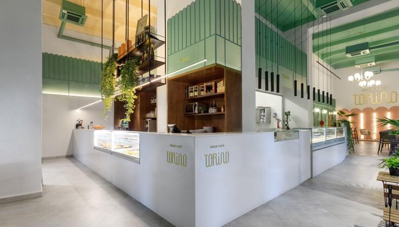 Pucciocollodoro Architetti Interior Design Of Gran Cafe Torino In Palermo Floornature