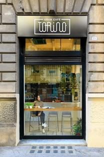 PuccioCollodoro Architetti interior design of Gran Cafè Torino in Palermo