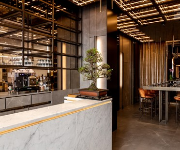 Maurizio Lai Architects interior design for AJI food delivery and take-away