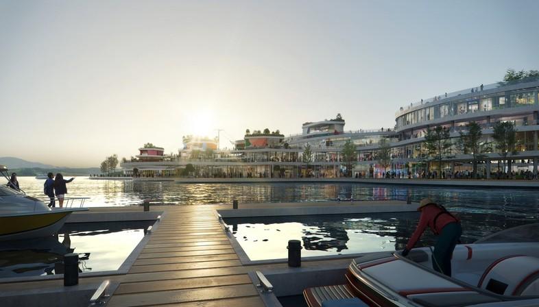 UNStudio designs a sustainable masterplan for Gyeongdo Island, in South Korea