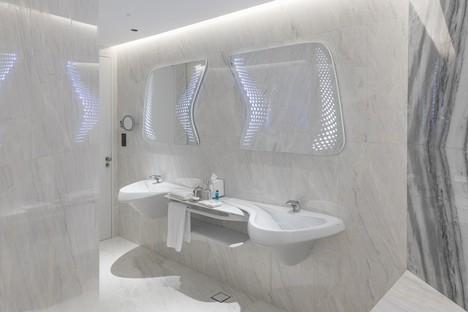 Zaha Hadid Architects ME Dubai hotel and The Opus in Dubai
