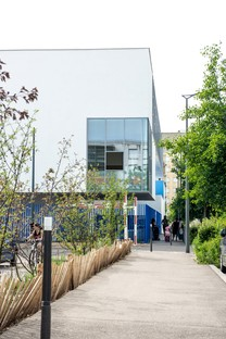 Dominique Coulon & associés René Beauverie school campus in Vaulx-en-Velin