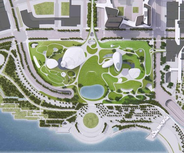 Previews of the future: MAD unveils its plans for Shenzhen Bay Culture Park