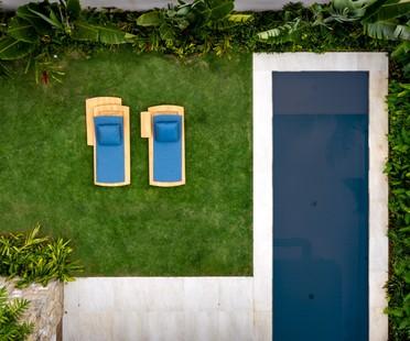 Rua 141 & Zalc Arquitetura design Casa NK, a family refuge on the São Paulo coast