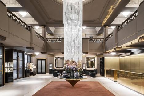 Lissoni Casal Ribeiro interior design of the Hotel Café Royal in London
