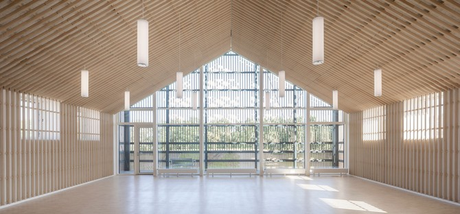 CF Møller Architects The Heart in Ikast wins a Civic Trust Award