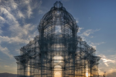 Opera, a new permanent installation by Edoardo Tresoldi in Reggio Calabria