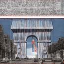 CHRISTO AND JEANNE-CLAUDE - PARIS! Exhibition Centre Pompidou