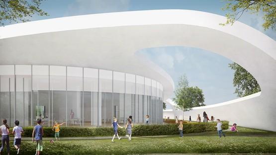 Alvisi Kirimoto Multi-purpose Civic Center, Childcare Center and Park, Rome