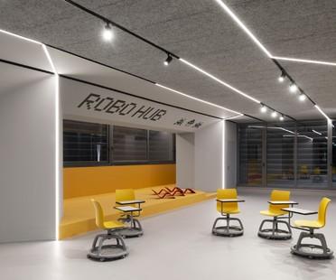 SBG Architetti ROBOHUB Robotics Workshop, Curiel School, Rozzano