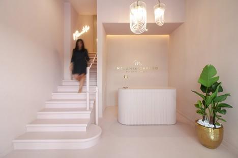PuccioCollodoro Architetti, a Minimalist-Pop project for Melania Caruso Flagship Store