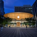 Foster + Partners Apple Central World a new iconic store for Bangkok