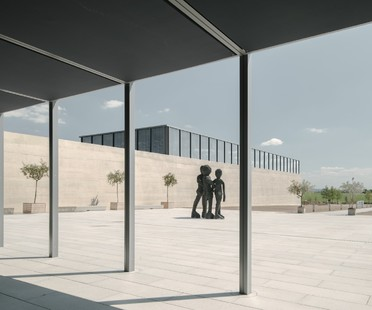 David Chipperfield Architects design the Carmen Würth Forum in Künzelsau, Germany