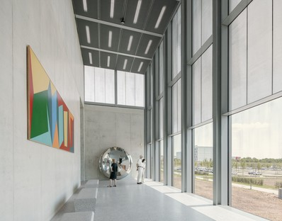 David Chipperfield Architects design the Carmen Würth Forum in Künzelsau, Germany
