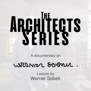 Three new appointments of The Architects Series - the first will focus on Werner Sobek