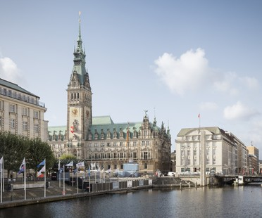 gmp plans a refurbishment project in central Hamburg:  Alter Wall 2-32