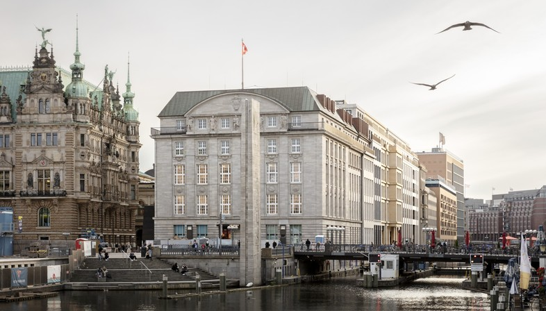 gmp plans a refurbishment project in central Hamburg:  Alter Wall 2-32