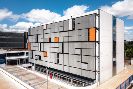 Kruchin Arquitetura designs new building and parking-lot at the UDF University Centre in Brasília (Brazil)