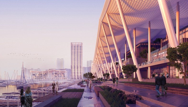 SOM designs Jiuzhou Bay, the new waterfront for Zhuhai in China
