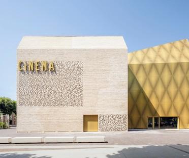 """Antonio Virga Architecte designs """"Le Grand Palais"""" Cinema and museum space in Cahors"""