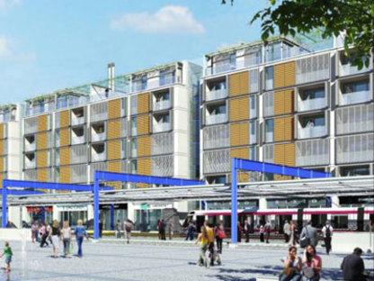 New Scandicci Centre (Florence) - Richard Rogers