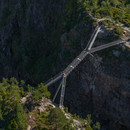 Carl-Viggo Hølmebakk designs new pedestrian bridge over the Vøringsfossen waterfall in Norway