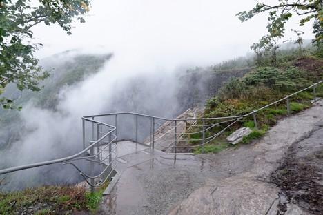 Carl-Viggo Hølmebakk designs new pedestrian bridge over the Vøringsfossen waterfall in Norway