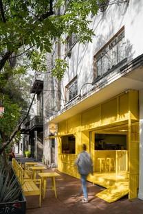 De Huevos in Mexico City is a new gastronomic concept by Cadena Concept Design