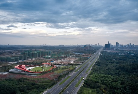 Powerhouse Company designs Loop of Wisdom, a new iconic project for Chengdu