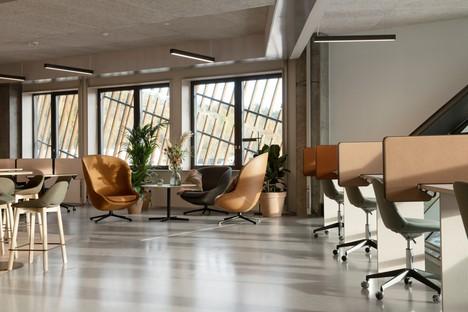 Snøhetta designs sustainable workspaces for Powerhouse Telemark