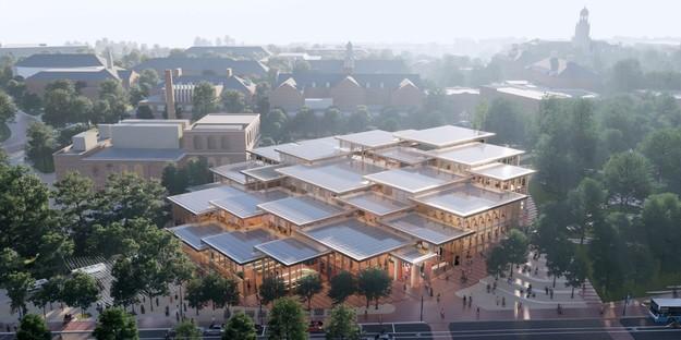 BIG designs The Village - Hopkins Student Center, Baltimore