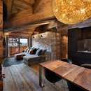 Giuseppe Tortato Architetti's mountain interior: a chalet in the Alps