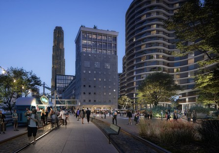 Powerhouse Company works in collaboration with SHoP Architects, Office Winhov, Mecanoo and Crimson on a new masterplan for Rijnhaven, Rotterdam