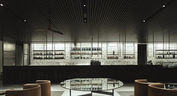 Lissoni Casal Ribeiro Interior design of Grand Park Hotel in Rovinj, Croatia
