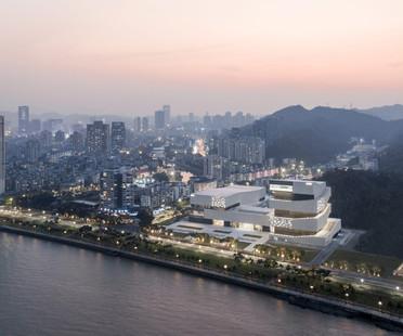 gmp Architekten von Gerkan, Marg und Partner complete Zhuhai Museum in China