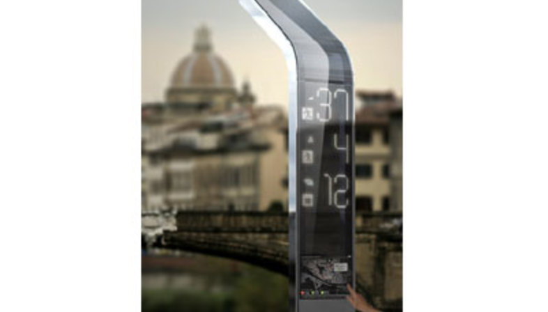 EyeStop: hi-tech platform roofs, Florence