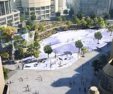 Miralles Tagliabue EMBT wins the competition for redevelopment of Shanghai's Century Square