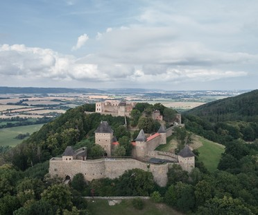 atelier-r completes reconstruction and renovation of Helfštýn Castle Palace, Czech Republic