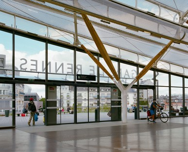 AREP's station and new multimodal pole in Rennes