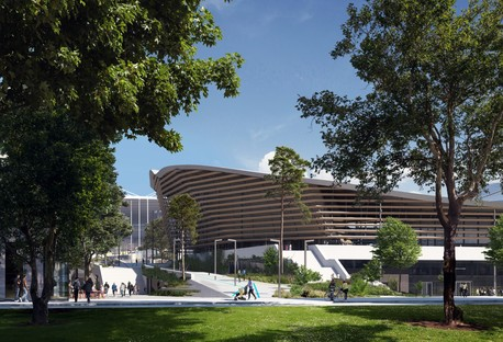 VenhoevenCS + Ateliers 2/3/4/ Aquatic Centre for the Paris 2024 Olympics
