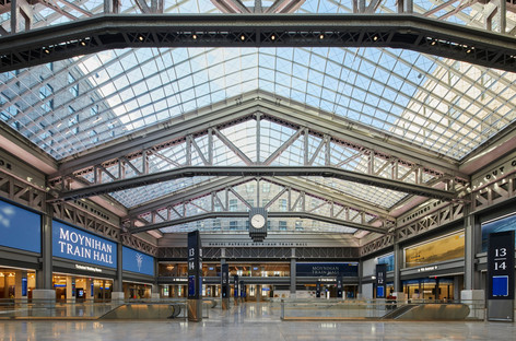 SOM designs Daniel Patrick Moynihan Train Hall in New York