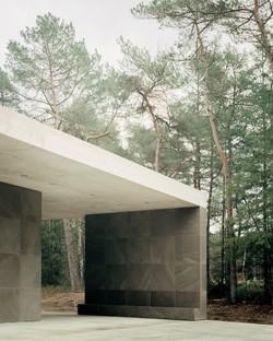 KAAN Architecten designs Loenen Pavilion, a memorial building in harmony with nature