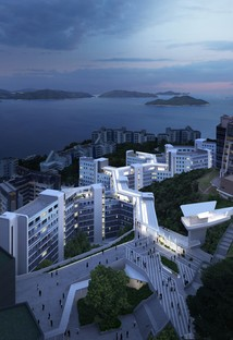 Zaha Hadid Architects designs a Student Residence at the Hong Kong University of Science and Technology