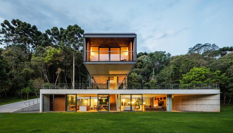 UNA arquitetos Mantiqueira House residential project in São Bento do Sapucaí